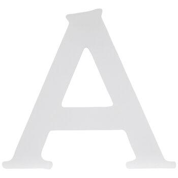 """White Wood Letter - 6"""""""