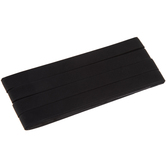 Black Extra Wide Double Fold Bias Tape