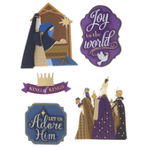Away In A Manger 3D Stickers