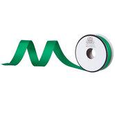 "Green Matte Grosgrain Ribbon - 5/8"""
