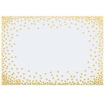 Gold Confetti Envelopes - A7