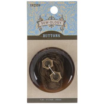 Tortoise Round Button - 44mm