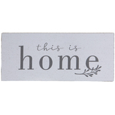 This Is Home Wood Decor
