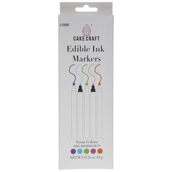 Edible Ink Markers - 5 Piece Set