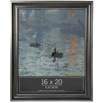 Antique Silver Wood Wall Frame