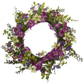 Morning Glory Wreath