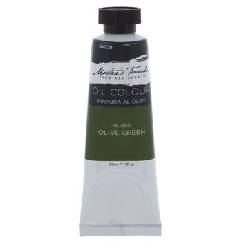 Olive Green Master's Touch Oil Paint - 1.7 Ounce