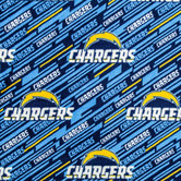 NFL Los Angeles Chargers Fleece Fabric