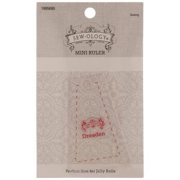 Mini Dresden Trapezoid Quilting Ruler