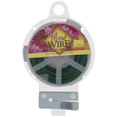 Green Easy Cut Coated Floral Wire
