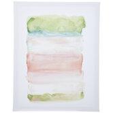 Abstract Watercolor Canvas Wall Decor