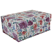 Purple, Blue & Red Floral Box
