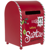 Letters To Santa Metal Mailbox