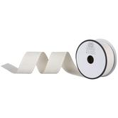 "Ivory Side Stitch Ribbon - 1 1/2"""