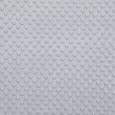 Silver Bubble Microfiber Fleece Fabric