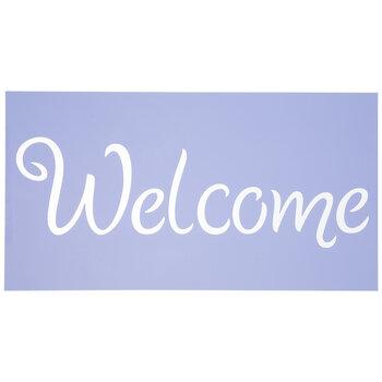 Welcome Stencil