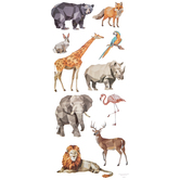 Geo Animal Stickers