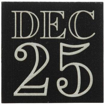 December 25 Wood Decor