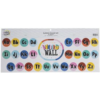 Word Wall Alphabet Bulletin Board Set