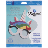 Sparkle Unicorn Mask Diamond Art Kit