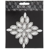 Rhinestone Diamond Iron-On Applique