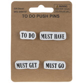 To Do Wood Push Pins