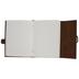 Brown Leather Buckle Sketchbook