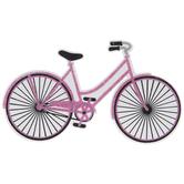 Bike Painted Wood Shape