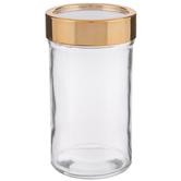 Copper Window Lid Glass Jar - 16 Ounce