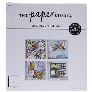 """Album Refill Pages - 12"""" x 12"""""""