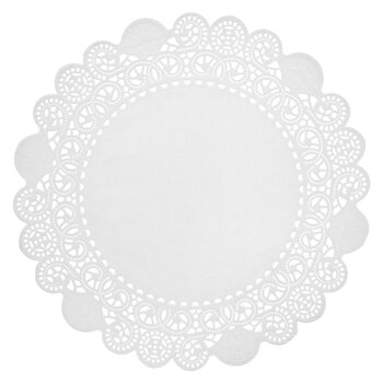 White Grease Proof Doilies