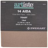 "14-Count Aida Cross Stitch Fabric - 11 3/4"" x 18"""