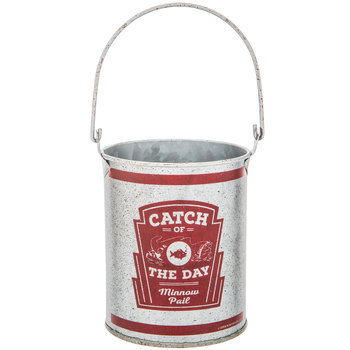Catch Of The Day Metal Bucket