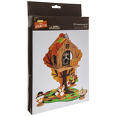 3D Treehouse Foam Craft Kit