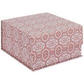 Quatrefoil Tile Square Box