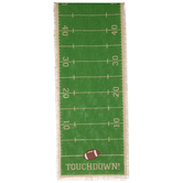 Touchdown Yard Line Jute Table Runner