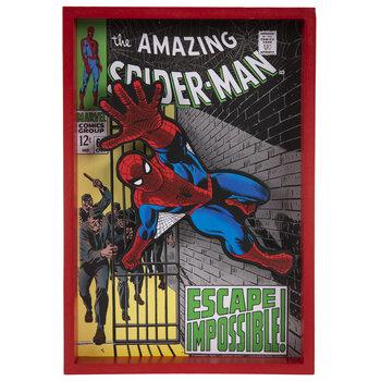 The Amazing Spiderman Wood Wall Decor