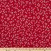 Mini Red Flower Apparel Fabric
