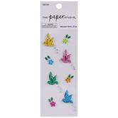 Birds & Flowers Rhinestone Stickers