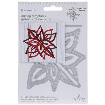3D Poinsettia Dies