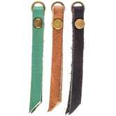 Imitation Leather Tassel Zipper Pulls