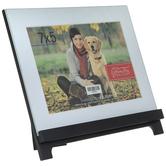 "Black Wood Easel Frame - 7"" x 5"""