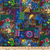 Belle Stained Glass Cotton Calico Fabric
