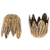 Leaf Bead Caps - 16mm x 20mm