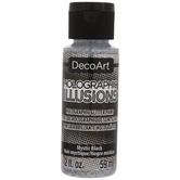 Mystic Black Holographic Illusions DecoArt Acrylic Paint