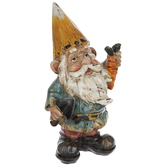 Orange Hat Gnome With Carrot