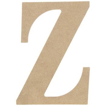"""Wood Letter Z - 9 1/2"""""""