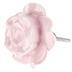 Pink Rose Knob