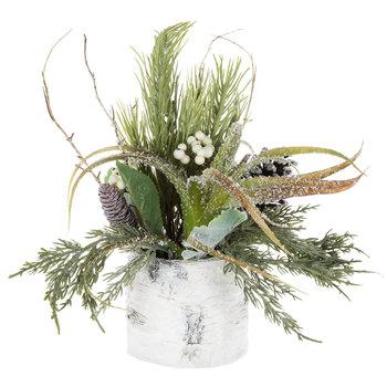 Snowy Pine Arrangement