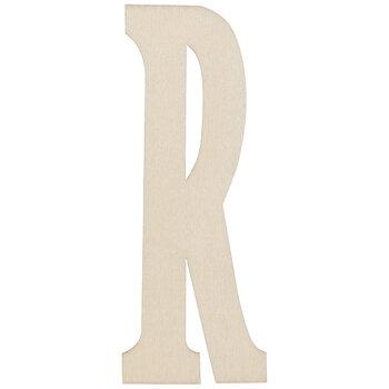 """Vintage Sign Wood Letters R - 4"""""""